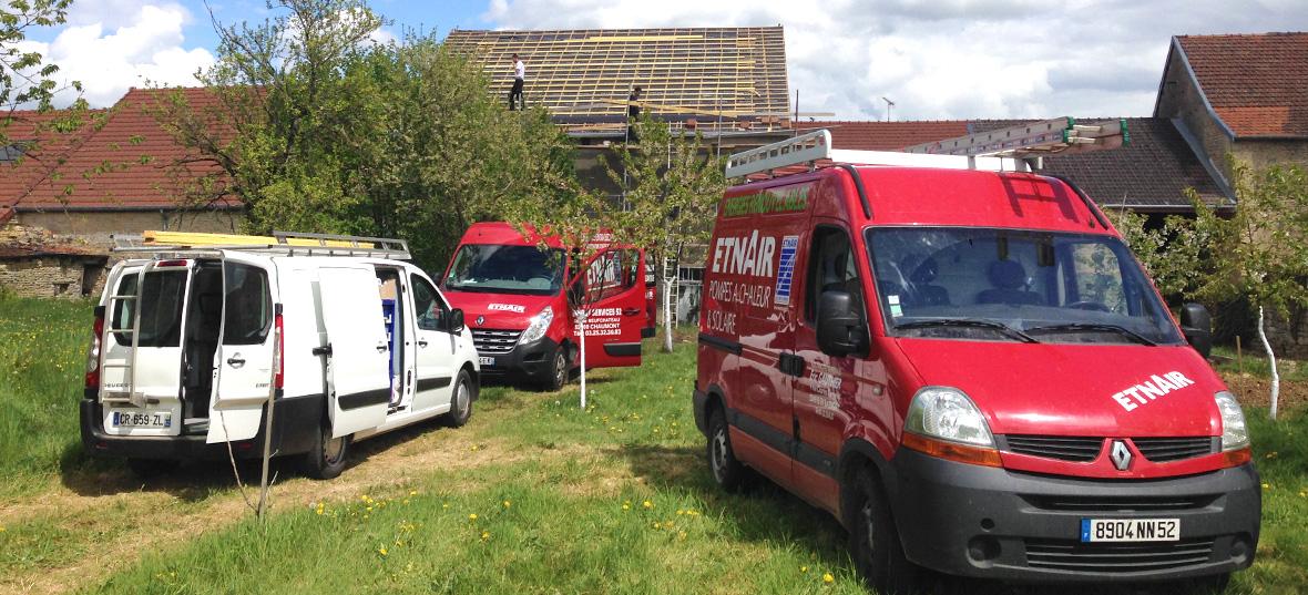 Etnair, la maîtrise des énergies naturelles, pompe à chaleur Daikin, photovoltaïque, à Chaumont (Haute-Marne)